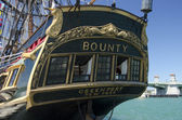 HMS Bounty Ship Title — Stock Photo