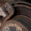 Worn Brake Disk — Stock fotografie #16185195