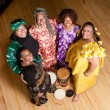 Group of African woman performers — Stock Photo #39977329