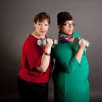 Confident Mature Plus Size Buisiness Women — Stock Photo