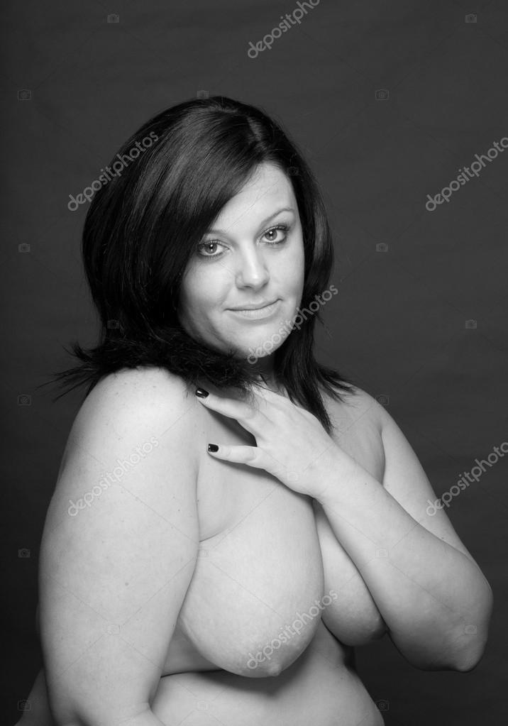 sexy plus size brunet