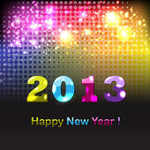 Happy New Year Poster — Stock Vector