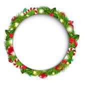 Merry Christmas Speech Bubble — Stock Vector