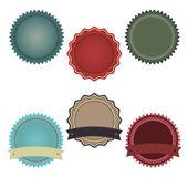 Promo Badges — Stock Vector