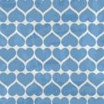Фон синие сердца — Cтоковый вектор