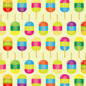 Color Candy Background — Stock Vector