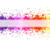 Color Blot Background — Stock Vector