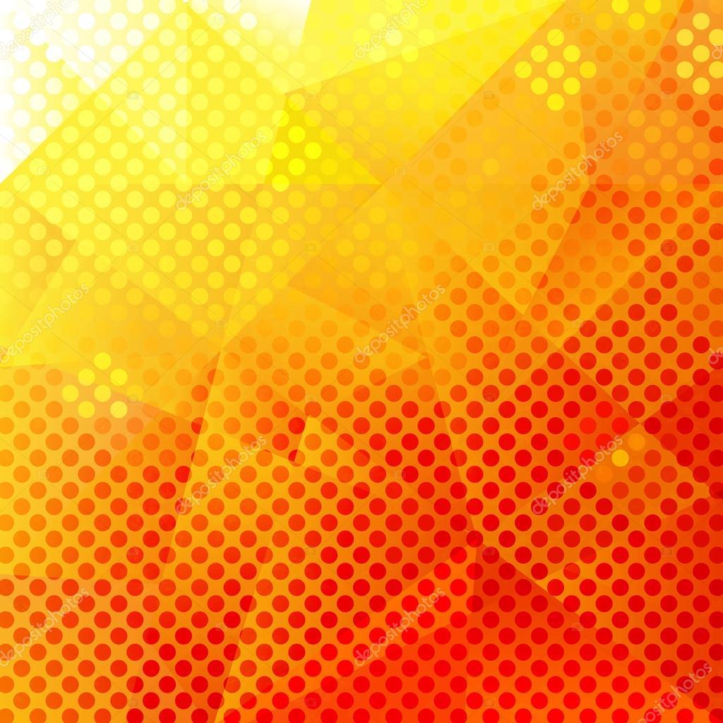 Fondo color naranja y amarillo vector de stock - Amarillo naranja ...