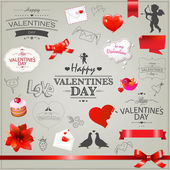 Valentines Day Icons — Stock Vector