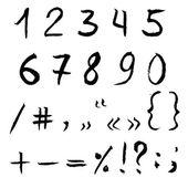 Figures Hand Drawing — Stockvektor