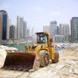 Stock Photo: Construction tractor in Dubai