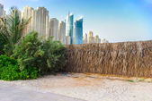 Dubai Town scape — Stock Photo