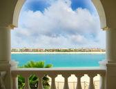 Jumeirah Dubai Palm Island House — Stock Photo
