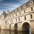 Stock Photo: Castle of chenonceau