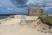 German bunker in Normandy from the Second World War — Stok fotoğraf