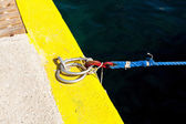 Ring docking and mooring — Stock Photo