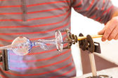 Glass-blower — Stock Photo