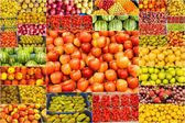 Collage of fruits — Stock Photo