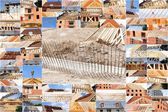 Collage of industry — Stock Photo