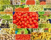 Vegetable farmers market — Stock Photo