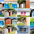 Colored fishermen's house — Stock Photo #51419721