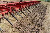 フィールド上の農業機械 — ストック写真