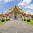 The Marble Temple(Wat Benchamabophit), Bangkok, Thailand — Stock Photo