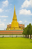 Wat Phra Kaew tourism travel in thailand — Stock Photo