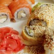 Japanese Sushi Roll — Stock Photo #22103693