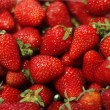 Fresh strawberry background - full frame — Stock Photo #25498157