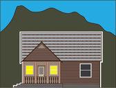 Tiny house — Stock Vector