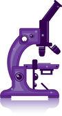 Microscope — Stockvector