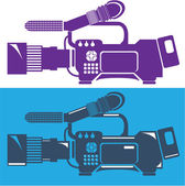 Video camera — Stock Vector