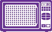 Vetor de microondas — Vetorial Stock