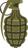 手榴弾 — ストックベクタ