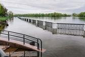 Trappor i vattnet — Stockfoto