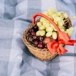 Holiday basket — Stock Photo