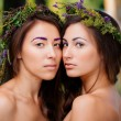 Double portrait — Stock Photo #35841215