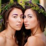 Double portrait — Stock Photo