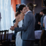 First wedding dance — Stock Photo