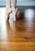 芭蕾的体育锻炼 — 图库照片