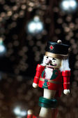 Nutcracker Holiday Background — Stock Photo