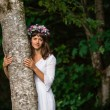 Mother Nature Hugging Tree — Stock Photo #13558331