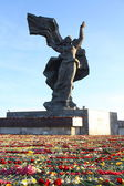 Victory Memorial to Soviet Army and Mother Motherland — Stock Photo