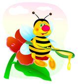 Bees — Stock Vector