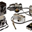 Photographic equipment last century — Stockfoto