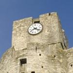 Old church clock — Stock Photo
