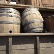 Royalty-Free Stock Photo: Old barrels
