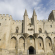 Palace of the popes in Avignon, France — Stock Photo #13824867