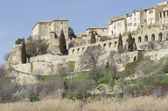 Lauris, perched village in Provence — Stock Photo